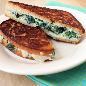 Spinach Artichoke Melts Recipe