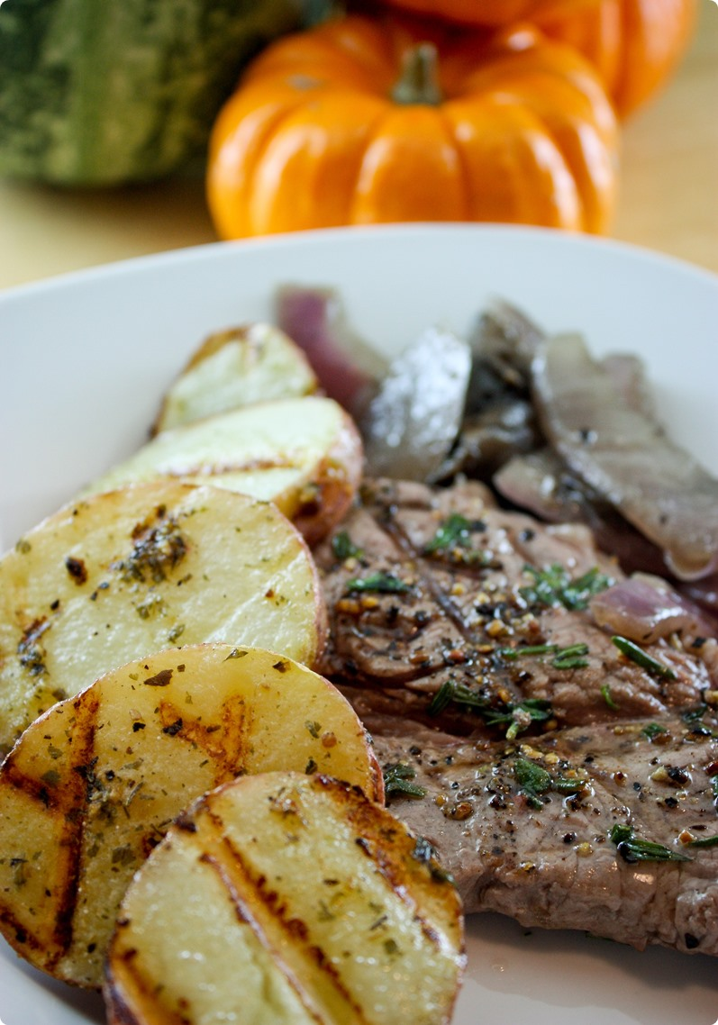 Lavender & Rosemary Steak