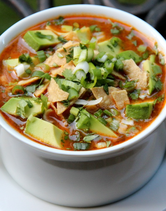 Turkey tortilla soup – Cook your food