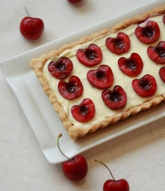 Cherries Coconut Cream