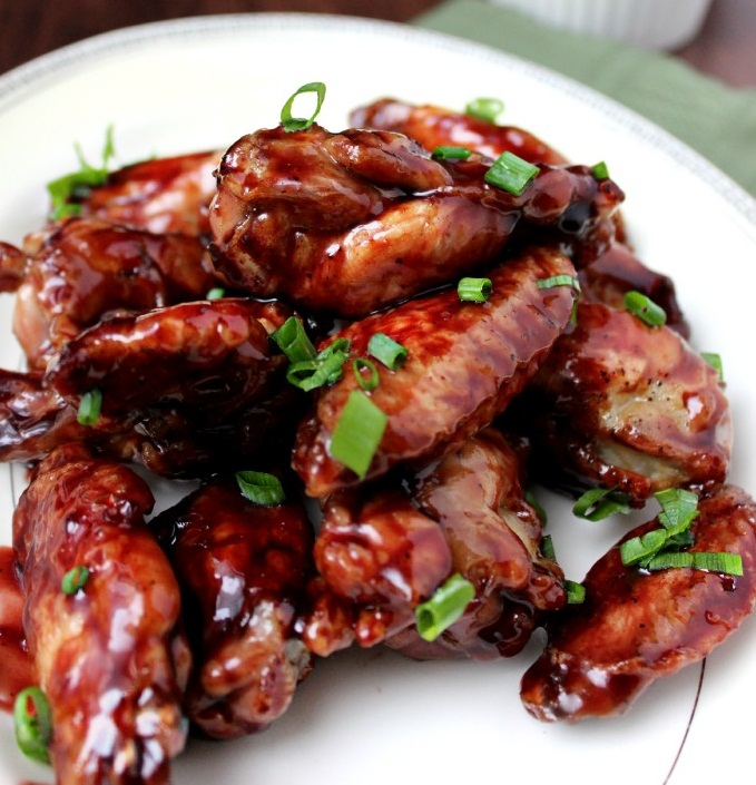 Crispy Baked Asian Chicken Wings