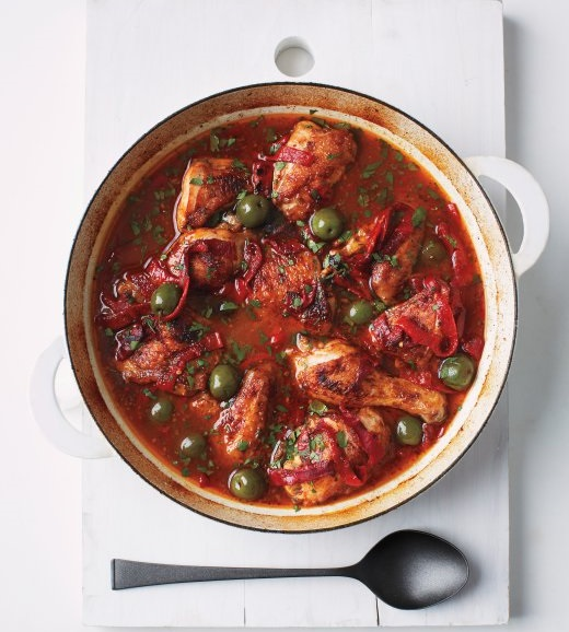 Spanish-Style Chicken